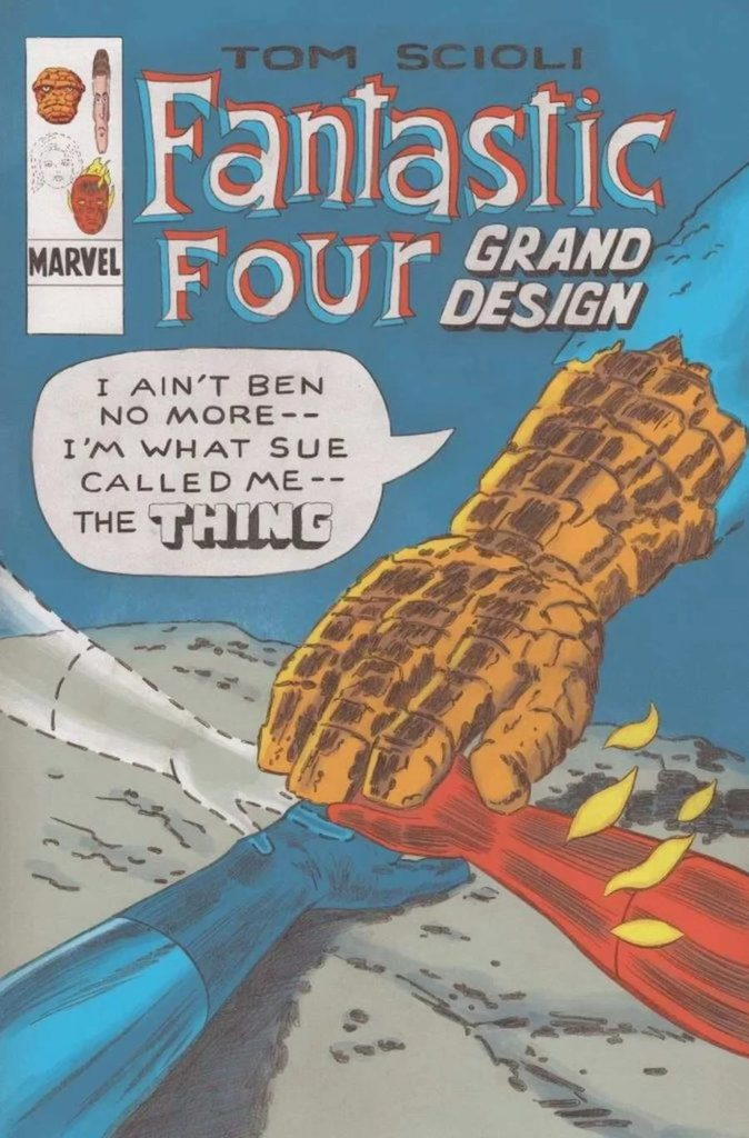 Marvel News - Clarim Diário  Quarteto-fantastico-grand-design-anuncio-1-674x1024